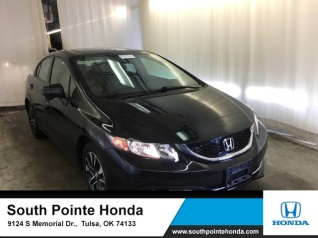 Used 2015 Honda Civic EX Sedan CVT For Sale In Tulsa, OK