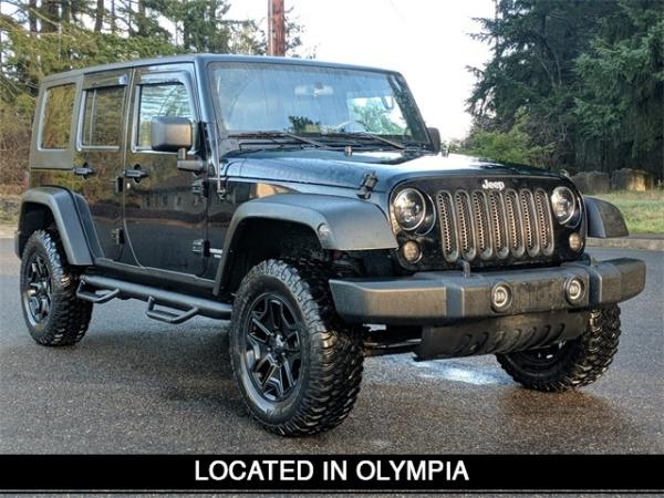 2008 Jeep Wrangler in Olympia, WA