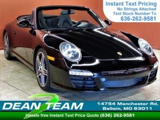 7a0e2c44d1b510 2009 Porsche 911 Carrera S Cabriolet for Sale in Ballwin