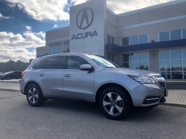 2016 Acura MDX FWD