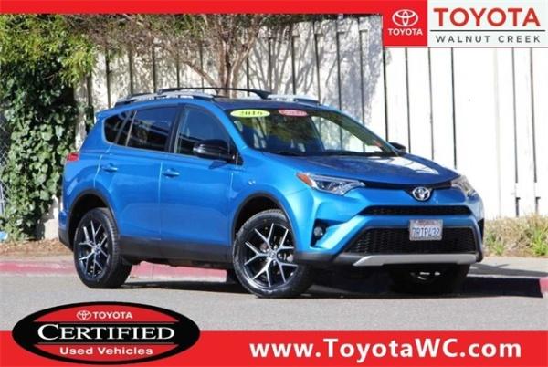 2016 Toyota Rav4 In Walnut Creek Ca