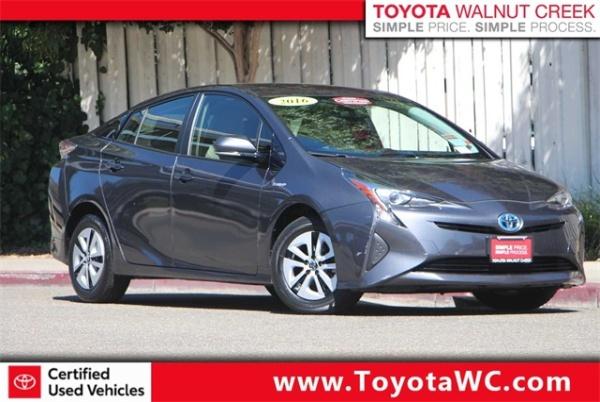 2016 Toyota Prius in Walnut Creek, CA