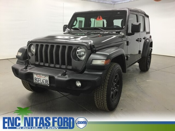 San Diego Jeep Dealers >> Used Jeep Wrangler For Sale In San Diego Ca 78 Cars From