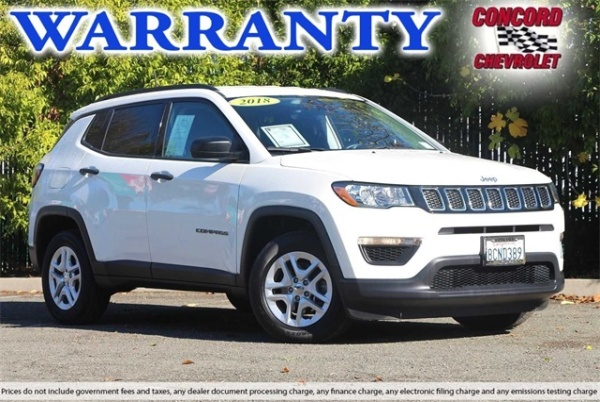 2018 Jeep Compass in Concord, CA