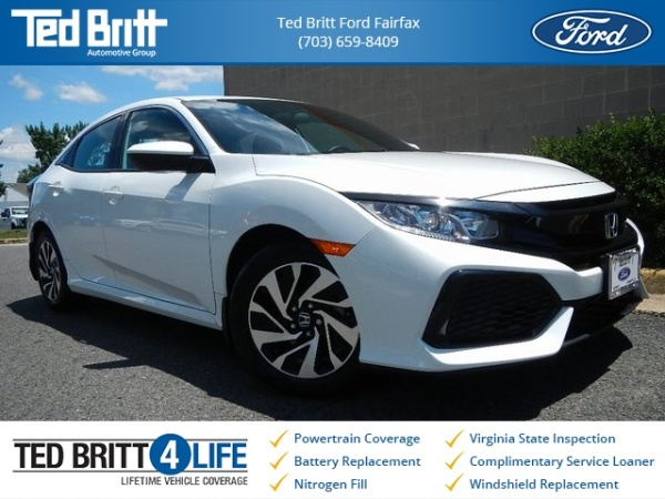 Fairfax Honda Service >> 2018 Honda Civic Lx Hatchback Cvt For Sale In Fairfax Va Truecar