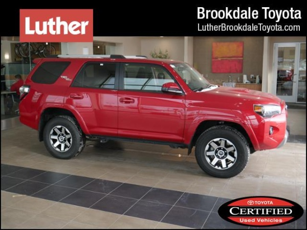 2018 toyota 4runner trd off road 4wd for sale in brooklyn park mn truecar. Black Bedroom Furniture Sets. Home Design Ideas