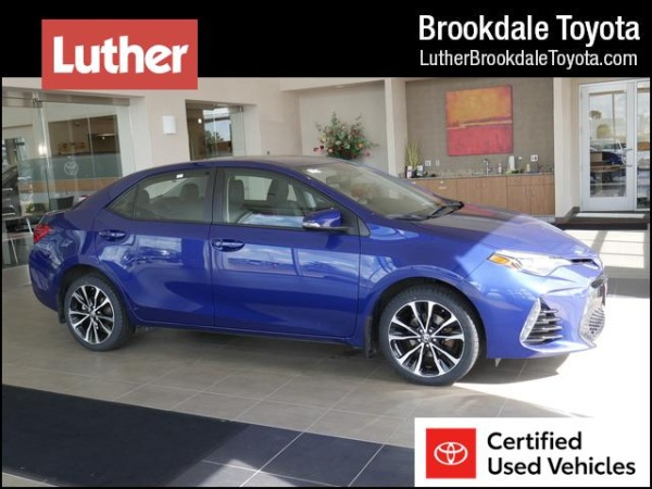 Toyota Brooklyn Park >> 2017 Toyota Corolla Se Cvt For Sale In Brooklyn Park Mn