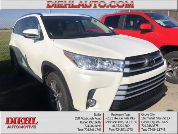 2019 Toyota Highlander in Butler, PA