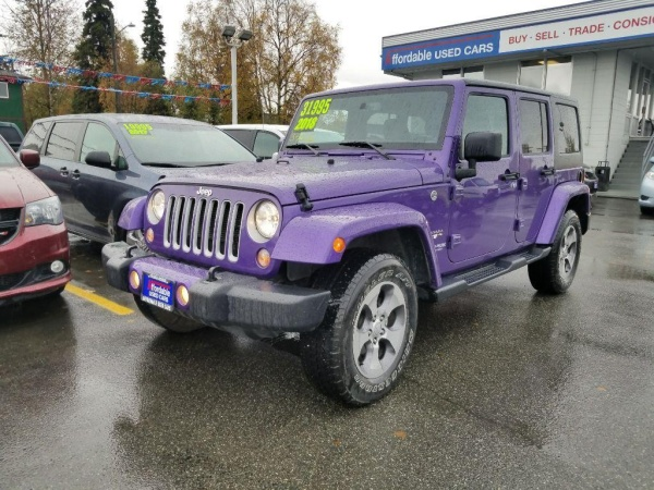 2018 Jeep Wrangler in Anchorage, AK