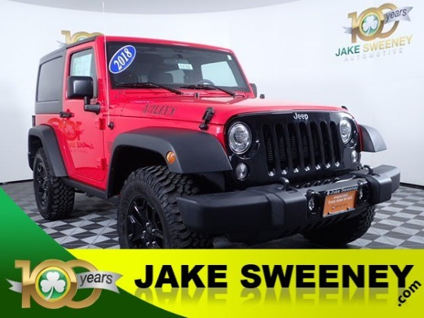 2018 Jeep Wrangler Willys Wheeler