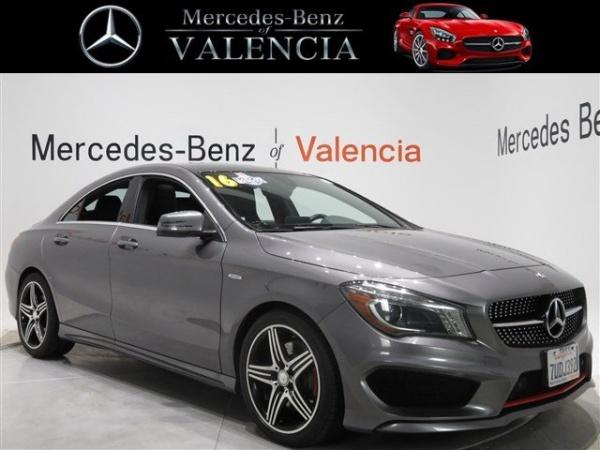 2016 Mercedes-Benz CLA in Valencia, CA