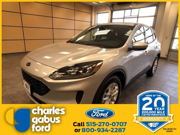 Charles Gabus Ford Des Moines Iowa >> 2020 Ford Escape Se For Sale In Des Moines Ia Truecar