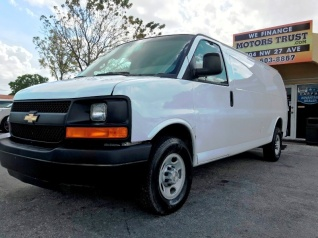 2016 Chevrolet Express Cargo Van 3500 Lwb For In Miami Fl