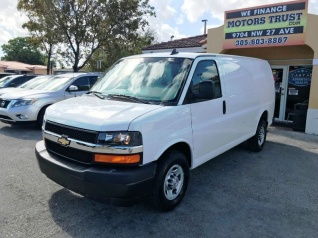 66149a78c6cb20 Used Chevrolet Express Cargo Van for Sale in North Miami Beach