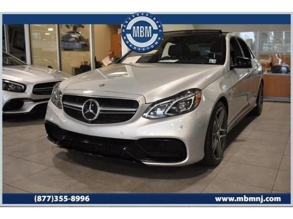 Mercedes Benz Of Morristown >> 2014 Mercedes Benz E Class E 63 Amg S Model 4matic Sedan For Sale In