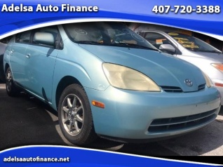 Used 2002 Toyota Prius Sedan For Sale In Orlando, FL