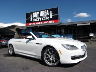2017 Bmw 6 Series 650i Convertible For In Hayward Ca
