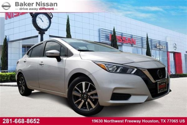 2020 Nissan Versa in Houston, TX