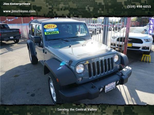 2014 Jeep Wrangler in Fresno, CA