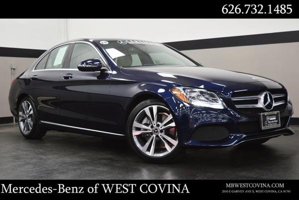 2018 Mercedes-Benz C-Class in West Covina, CA