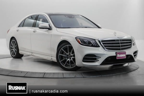 2019 Mercedes-Benz S-Class in Arcadia, CA