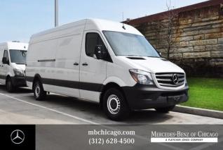 2018 Mercedes Benz Sprinter Cargo Van 2500 High Roof Lwb Rwd For In Chicago