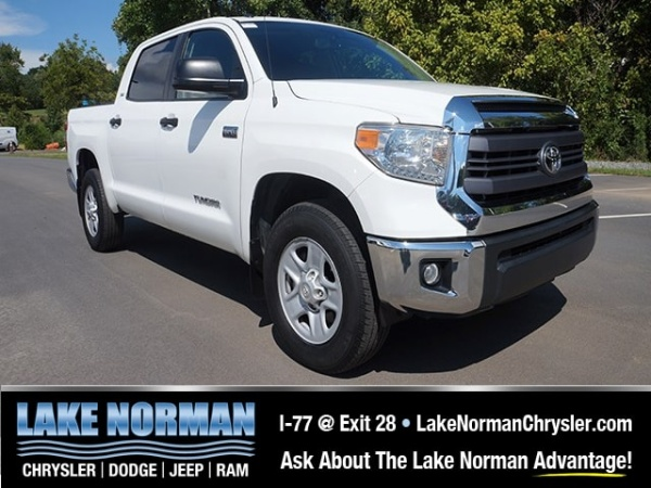 2014 Toyota Tundra CrewMax, 4X2, Short Bed.