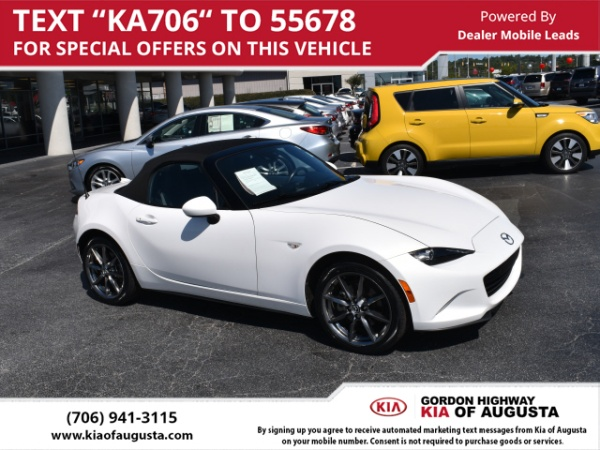 Mazda MX Miata Grand Touring Automatic For Sale In Augusta - Car show augusta ga