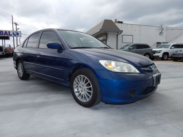 2005 Honda Civic EX SE Automatic Sedan