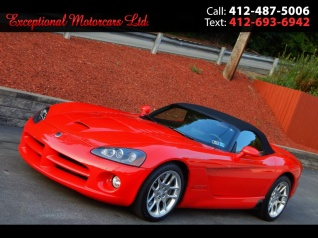 2003 Dodge Viper Srt 10 Convertible For In Glenshaw Pa