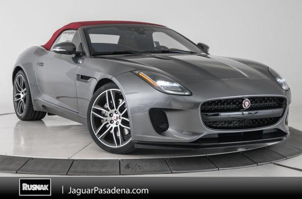 2019 Jaguar F-Type Convertible V6 340 HP RWD Manual