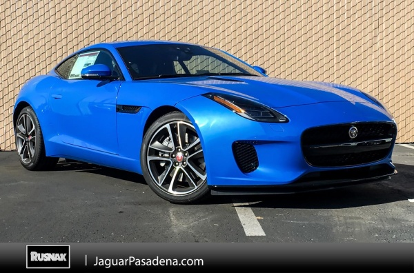 2019 Jaguar F-Type Coupe V6 340 HP RWD Automatic