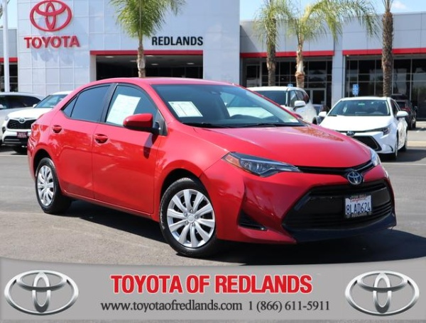 2018 Toyota Corolla in Redlands, CA