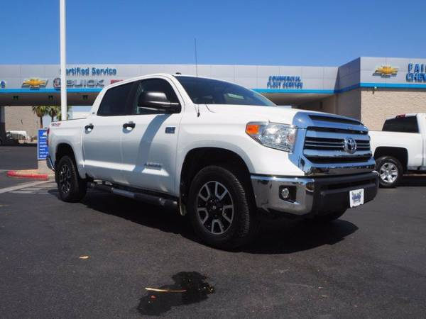 2016 toyota tundra sr5 crewmax 5 5 bed flex fuel 5 7l v8 4wd for sale in las vegas nv truecar truecar