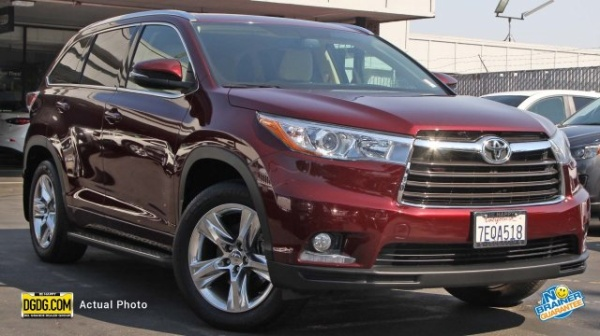 2014 Toyota Highlander Hybrid Dealer Inventory In Mountain View, CA (94035)  [change Location]