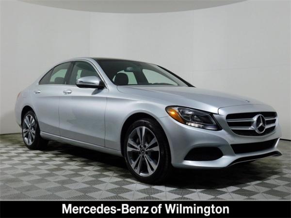 Mercedes Benz Of Wilmington >> 2018 Mercedes Benz C Class C 300 4matic Sedan For Sale In Wilmington