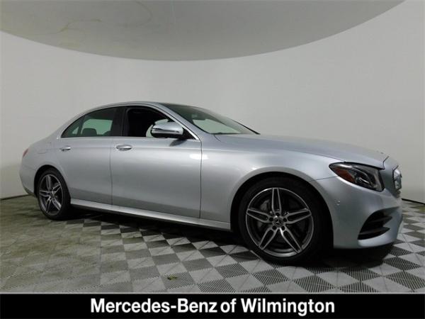 Mercedes Benz Of Wilmington >> 2019 Mercedes Benz E Class E 300 Sedan 4matic For Sale In