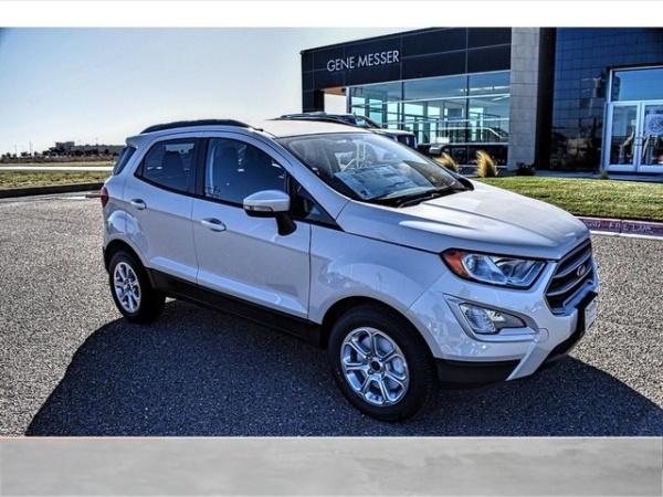 2020 Ford EcoSport in Amarillo, TX