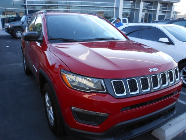 2018 Jeep Compass in Hawthorne, CA