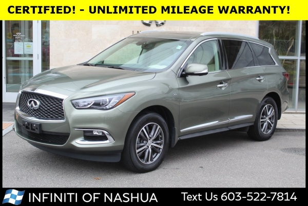 2017 INFINITI QX60 in Nashua, NH