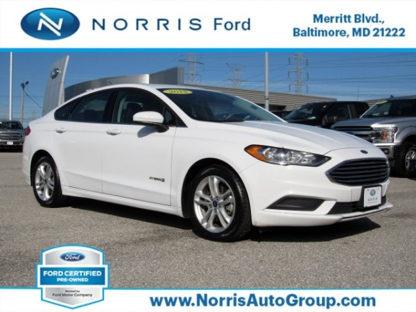 2018 Ford Fusion in Dundalk, MD
