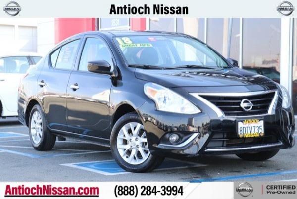 2018 Nissan Versa in Antioch, CA