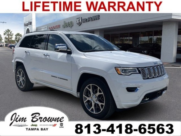 Jim Browne Jeep >> 2020 Jeep Grand Cherokee Overland For Sale In Tampa Fl