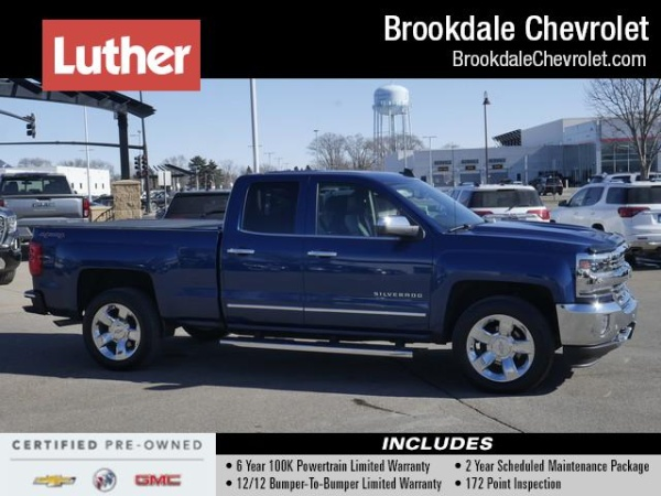 2017 Chevrolet Silverado 1500 in Brooklyn Center, MN