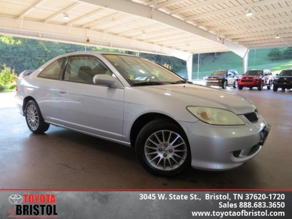 2005 Honda Civic EX Automatic Coupe