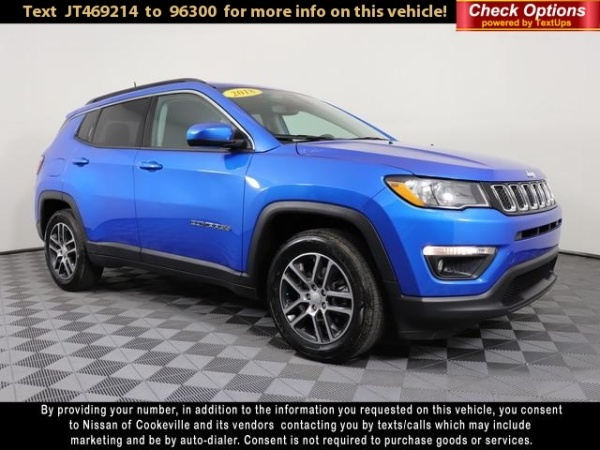 2018 Jeep Compass in Cookeville, TN