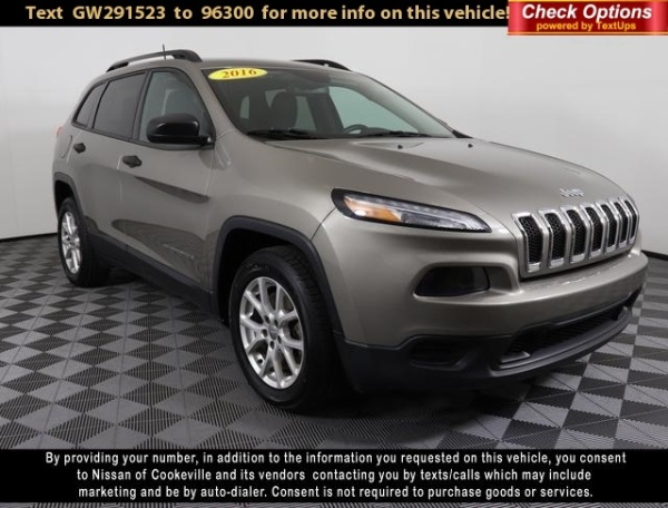 2016 Jeep Cherokee in Cookeville, TN