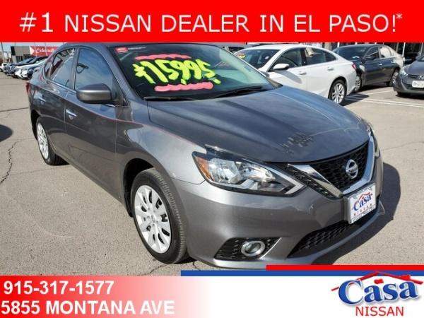 2018 Nissan Sentra in El Paso, TX