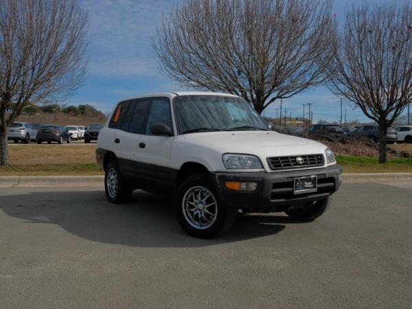 1998 Toyota RAV4 4-Door 4WD Manual