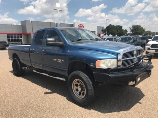 2005 dodge ram 2500 slt quad cab long bed 4wd for sale in lubbock, tx